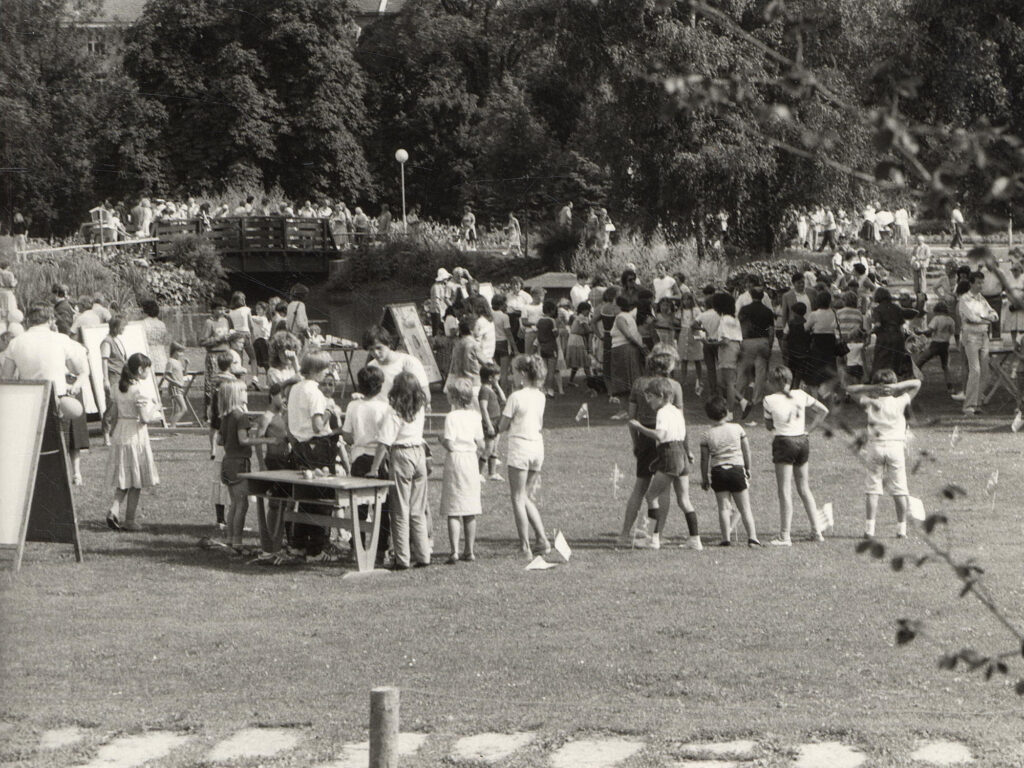 Eröffnungsfest im Rapoldipark 1983